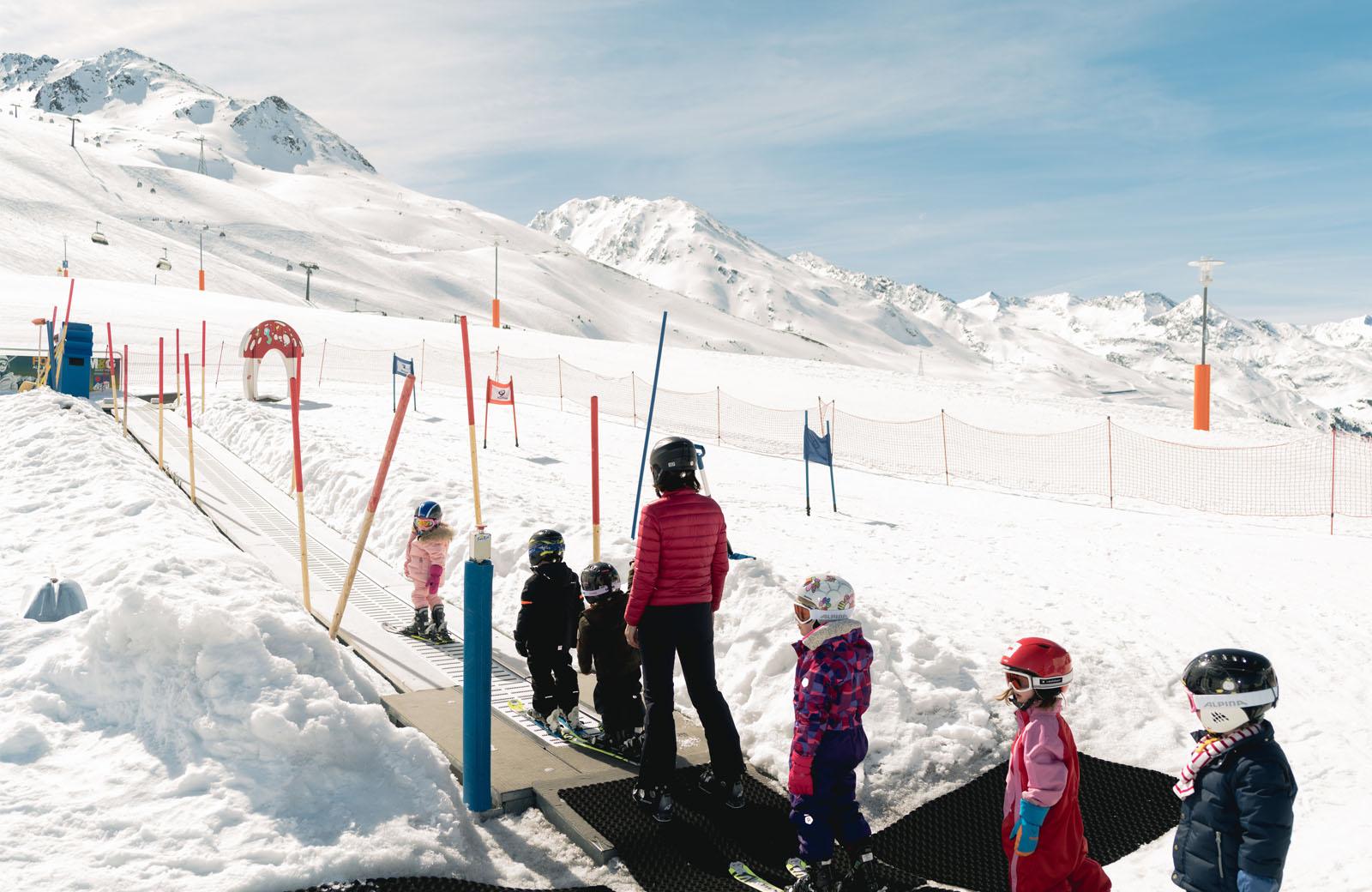 Kinderlifte in Obergurgel
