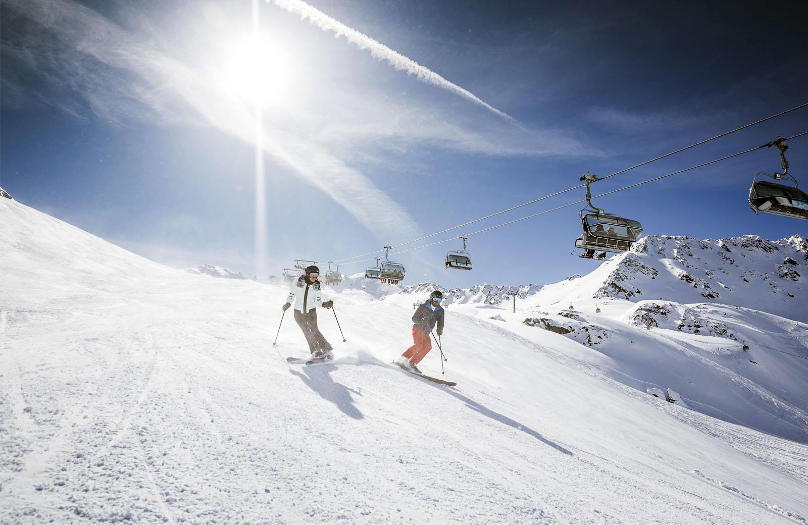 Skifahren in Obergurgel