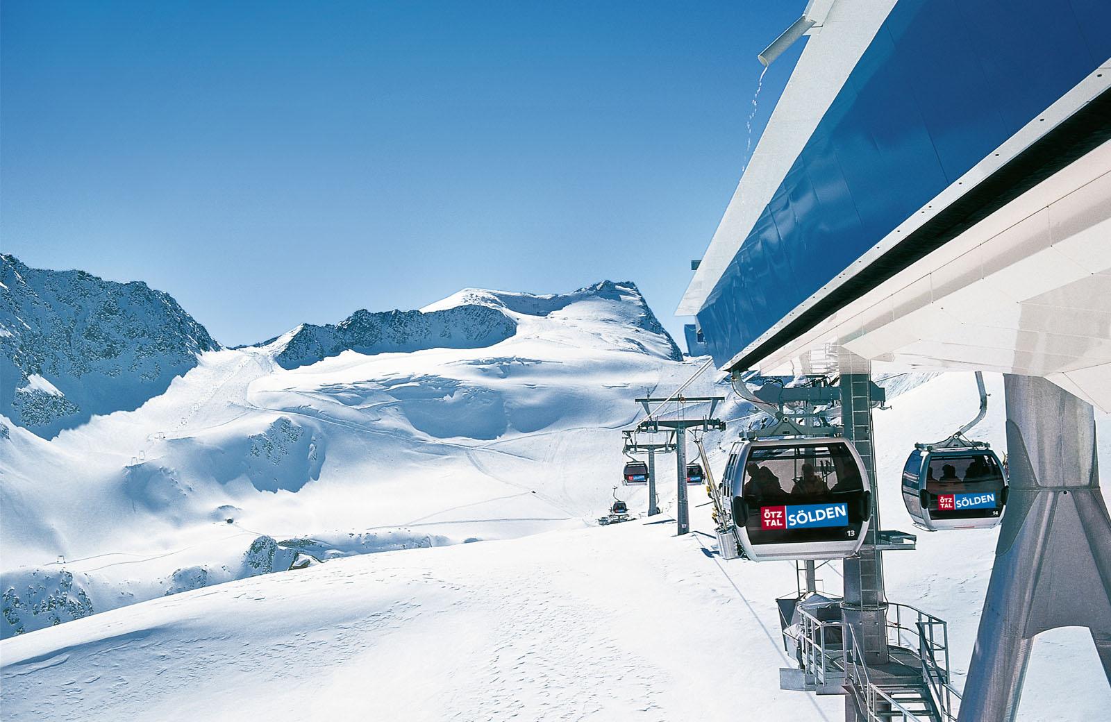Sölden Skigebiet